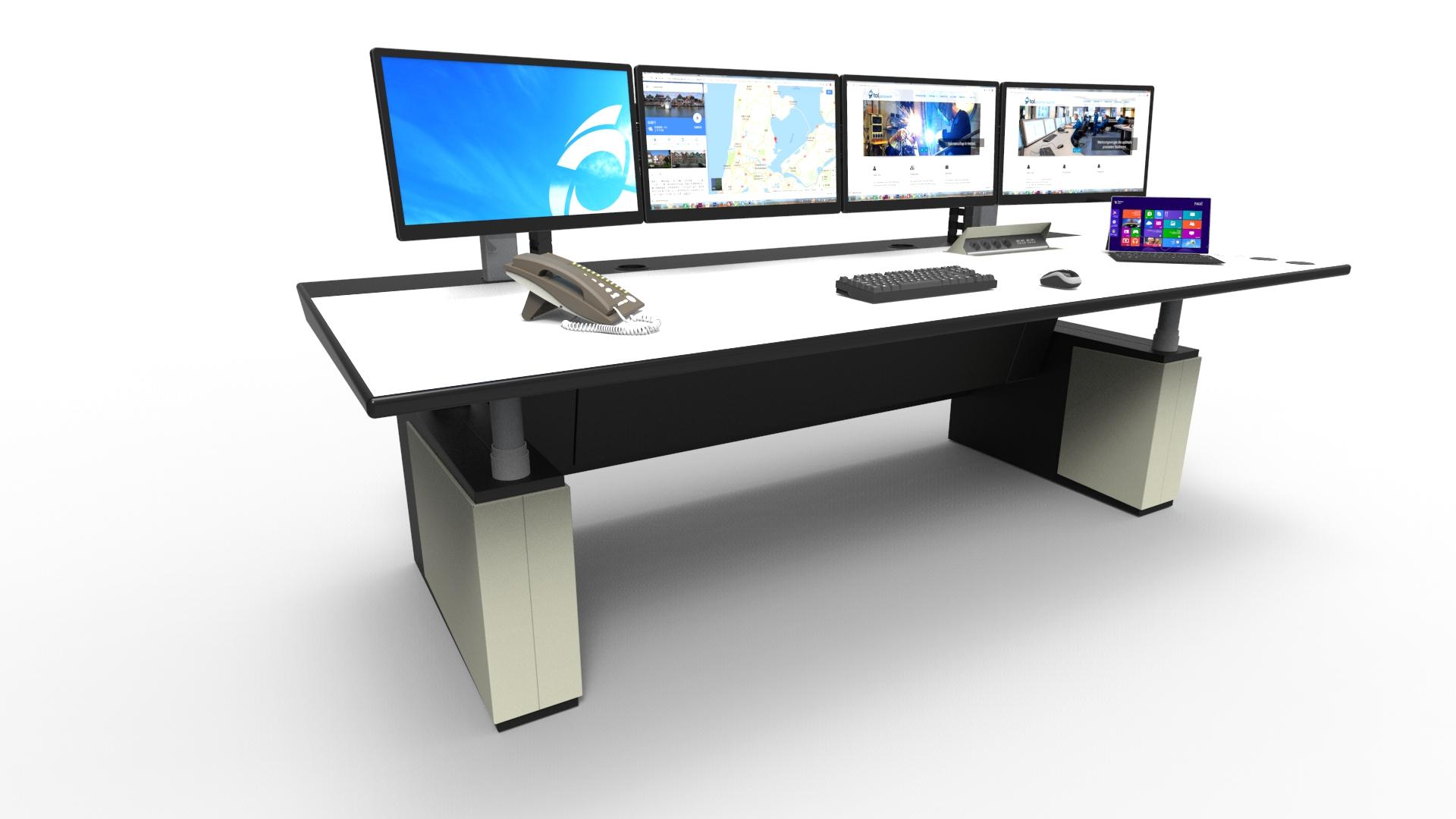 amazon desktop desk com office dual iyhjl height black uprite dp ergo monitor workstation adjustable products
